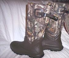 Mens Camo Hunting Boots Aerohead Lacrosse Boots Realtree Camo Rubber Boots sz 13