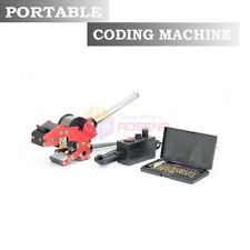220v New Handheld Coder Manual Ribbon Code Printer Hot Stamping Date Coding