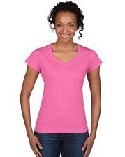 GILDAN - Soft Style T-Shirt mit V-Ausschnitt - v-neck - damen - NEU