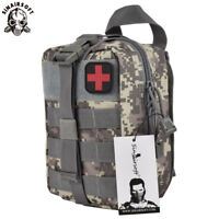 Tactical First Aid Kit Survival Molle EMT Emergency Pouch Bag Medical Rescue ACU
