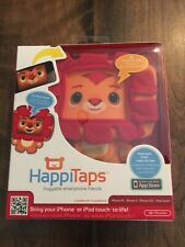 HappiTaps Huggable Smartphone iPhone or iPod Touch Lively Lion App   CUTE & NEW!