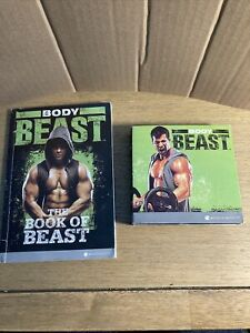 Body Beast DVD Home Workout Set 8 DVDs Beachbody Exercise Fitness with Book