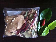 Dried Herbs TOM YUM SET Lemongrass Kaffir Lime Leaf..THAI Spicy Yummy Soup