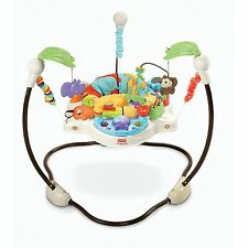 Fisher Price Luv U Zoo Jumperoo Rewards Baby With Music, Lights & Sounds Nrfb