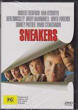 SNEAKERS - ROBERT REDFORD - DAN AYKROYD - BEN KINGSLEY -  DVD - NEW