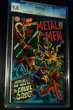 METAL MEN #36 1969 D.C. Comics CGC 9.0 VF-NM !