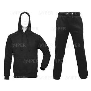 Viper  Men's Fleece Training Tracksuit Hoodie Gym Jogging Trousers