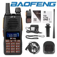 Baofeng GT-5 5W Dual Band Walkie Talkie VHF UHF Ham Scanner Two-way Radio