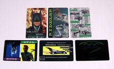 1985 DC Comics Batman Credit / Wallet Card Set (6)