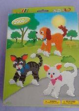 Hama beads Gatos y Perros Set 3433