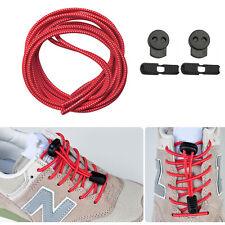 Ein paar Elastische Sport Schnürsenkel Schuhbänder für Marathon&Triathlon Rot