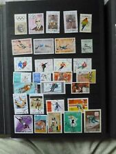Lot de 29 timbres de sports d'Hiver (Lot 35)