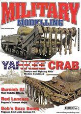 Military Modelling N 2008 Tamiya Sherman Mine Crab Tank Pegasus V-1 Flying Bomb