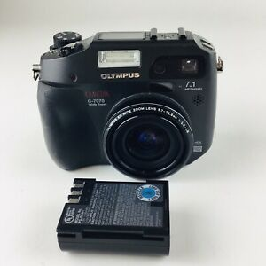 Olympus CAMEDIA C-7070 Wide Zoom 7.1MP Digital Camera - Black Parts Or Repair