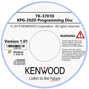 Kenwood KPG-202D (EU) Version 1.01 Programming Software for TK-3701D