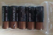 5 Duracell Alkaline batería 23a 12v voltios p23ga 8lr932 mn21 v23ga a23 ø10