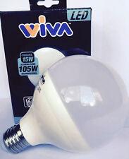 Lampadina LED WIVA globo E27 15W 4000K codice: 12100077