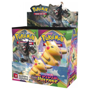 Pokemon TCG Sword and Shield Vivid Voltage Booster Factory Sealed Box 36 Packs