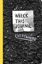 WRECK THIS JOURNAL EVERYWHERE - SMITH, KERI - NEW PAPERBACK BOOK