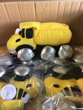 "Dump Truck Plush Construction Toy - 10"""