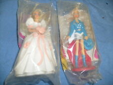 McDonald's Happy Meal Barbie Bride Wedding Doll Figurine 1992 + Western S.  / a5