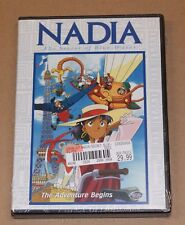 Nadia: Secret of the Blue Water Vol. 1 - The Adventure Begins (DVD, 2001) NEW