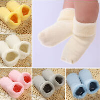 Baby Girl Boy Newborn Winter Warm Boot Toddler Infant Soft Sock Booties Shoes md