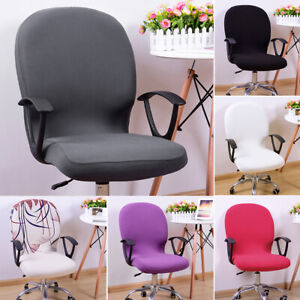 Chair Cover Office Computer Spandex Stretch Swivel Seat Rotate 🌟