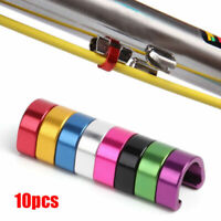 10pcs Alloy Hydraulic Housing C-Clips Mountain Bike Brake Cable Tube Fixing Clip