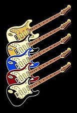 8x10 Rug Modern Guitar Music Rock n Roll  Recording Studio Only Electric Guitars