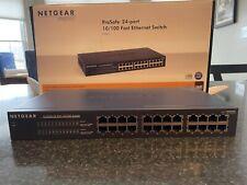 Netgear ProSafe Plus Jfs524E 24-Port Fast Ethernet Plus Switch