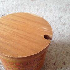 Hornsea Pottery Jam/Preserve Jar. Saffron Pattern.
