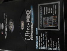CIGARETTE CARD ULTRA PRO 15 POCKET PLATINUM PAGES X 10 BRAND NEW FROM NEW BOX