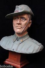 Buste d'un Soldat Australien WW1 (Finition polychrome )