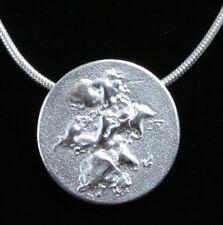 Lapponia 925s Sterling Silver Pendant Finland Hallmark K9 2011