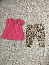 BABY GIRL 2 Pc Outfit Size 0-3 Mos