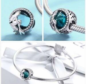 Silver Mermaid Charm In Fine Charms Charm Bracelets For Sale Ebay