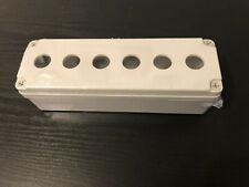 Electronic Abs Plastic Box Enclosure Project Case 6 Button Hole