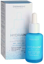 Dermedic Hydrain3 Hialuro Hydrating Serum for Face Neck and Decollete 30ml