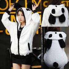 Cute Women's Long Sleeves Cartoon Panda Sweater Hoodies Hooded Jacket Free Size