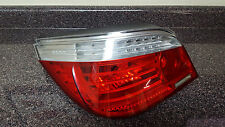 2008-10 BMW 5 SERIES LEFT DRIVER LED TAILLIGHT LAMP REAR OEM