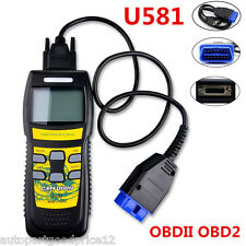 U581 OBD2 OBDII EOBD CAN BUS Car Code Reader Scanner Auto Diagnostic Scan Tool