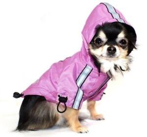 Nwt Hip Doggie Puppagonia Rain Parka Jacket Coat, Pink, Size Small, MSRP $68.00