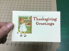 UNUSED Post Card - thanksgiving greetings