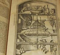 THÉATRE des INSTRUMENTS MATHEMATIQUE et MÉCANIQUES 1595 BESSON Folio 60 Gravures