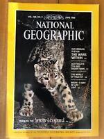 JUNE 1986 SNOW LEOPARD National Geographic Tolstoy Bikini Immune System