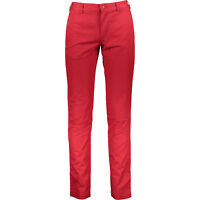 LACOSTE Men's Red Twill Chino Trousers Pants, Slim Fit, size W30 L34