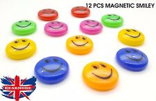 Colorful Smiley face Magnet Fridge TV Office magnet enjoy sticky 28mm round