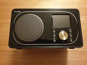 Pure Evoke F3 Internet, Digital and FM Radio With Bluetooth and Spotify - Black