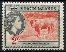 Mint Hinged Postage British Virgin Islander Stamps
